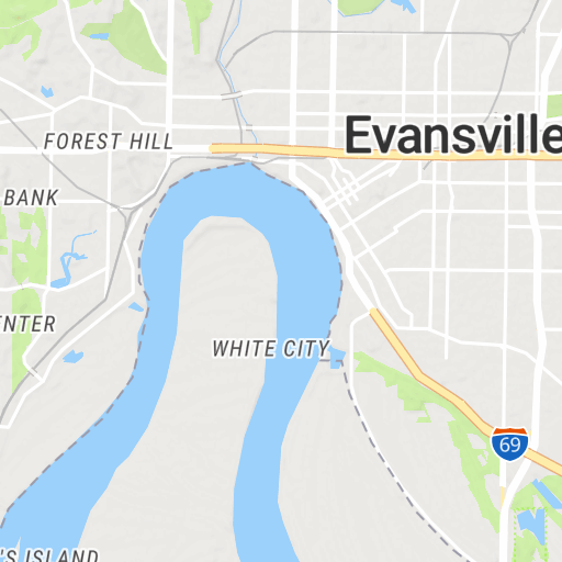 City Of Evansville Indiana Scribble Maps